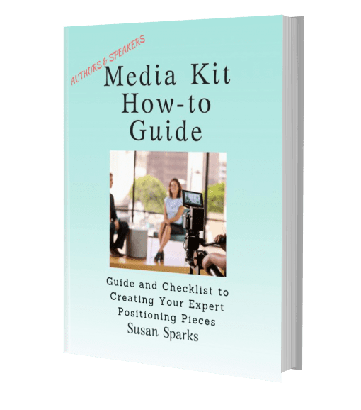 media kit, press kit, author, speaker