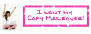 Susan Sparks, Copy Makeover