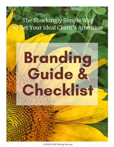 Branding Guide and Checklist